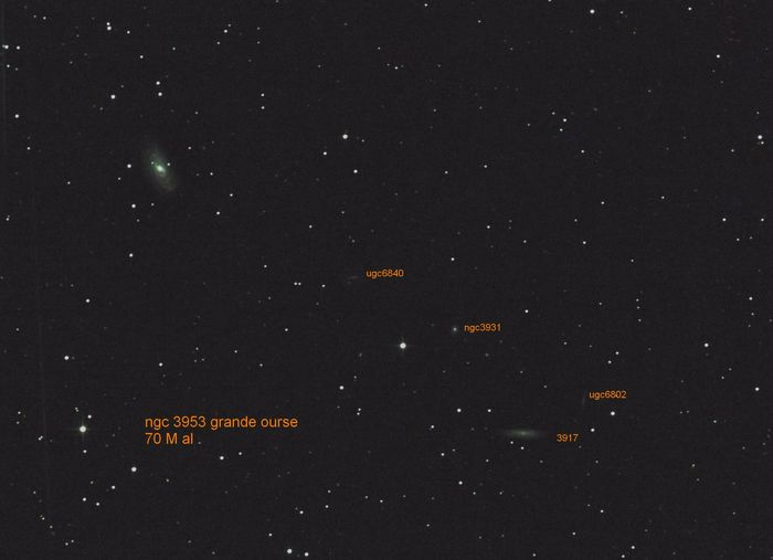 NGC 3953 Grande Ourse