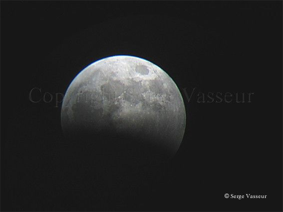 Eclipse de Lune 03-03-2007
