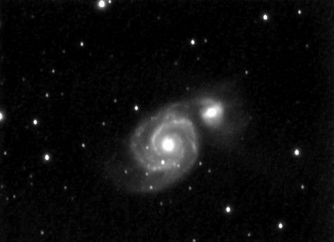 M51 (NGC 5194) - Galaxie du Tourbillon