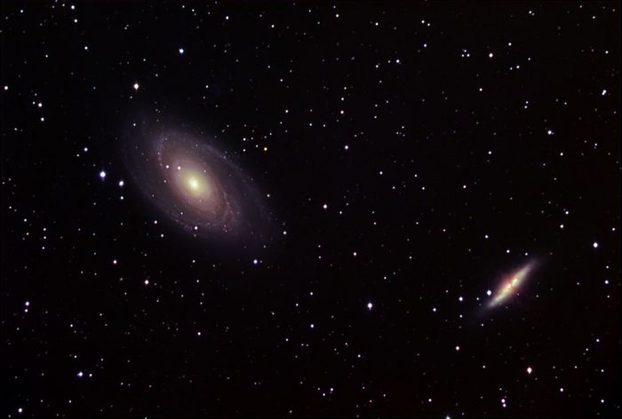 galaxies m81 et m82