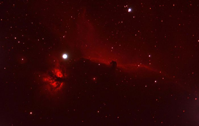 IC434 en h-alpha eos