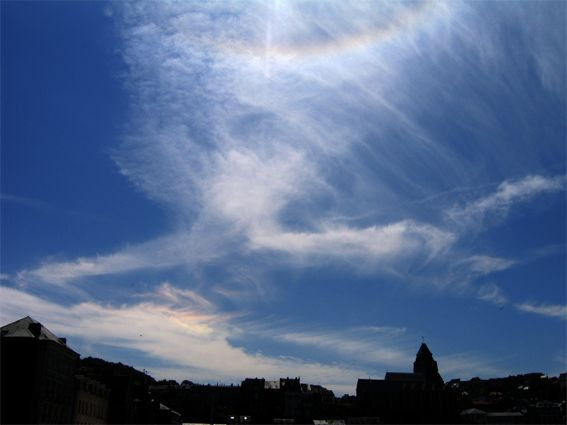 Arc circumhorizontal et halo 22° - 01