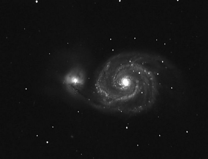 M51 'NGC 5194) - La Galaxie du Tourbillon