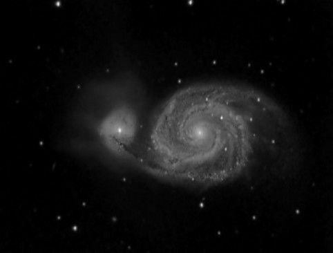 M51 - La galaxie du tourbillon