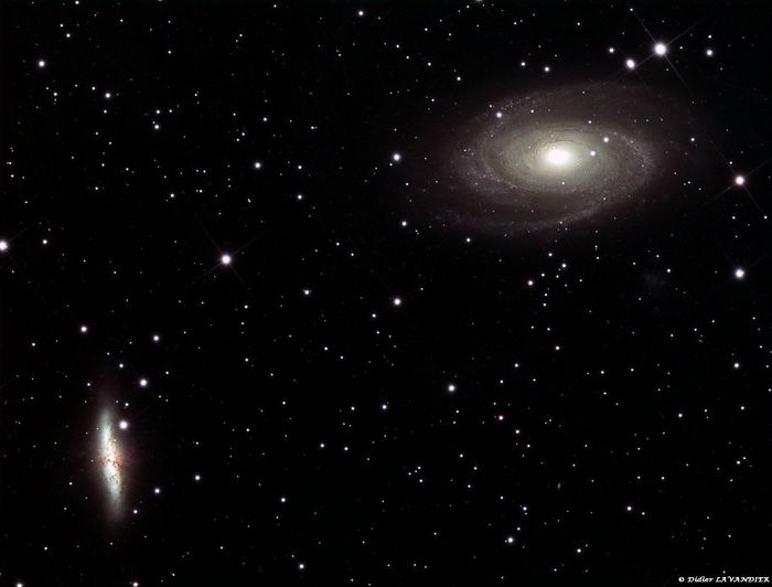 Zone des galaxies M81 et M82